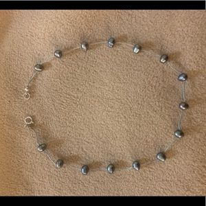 Jewelry - Real baroque tahitian pearl necklace
